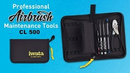 Iwata Professional Airbrush Maintenance Tool Kit