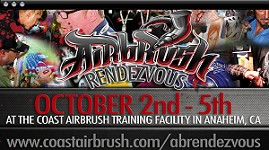 The Airbrush Rendezvous (October 2nd-5th) 2014