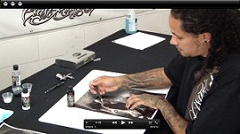 Kustom Stencil Making w/ Cory Saint Clair