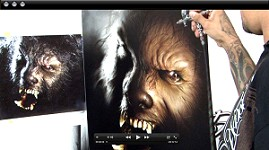 """The Wolf Man"" Mastering Photo Realism w/ Cory Saint Clair"