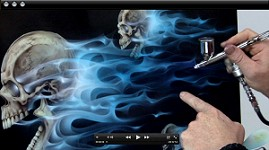 "The ""Flaming Skull"" - Creating Skulls & Realistic Blue Fire w/ Craig Fraser"