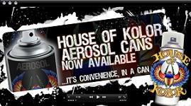 House of Kolor Spray Cans