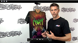 Painting on Black T-Shirts w/ Kent Lind