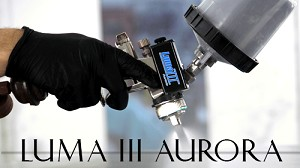 Luma III Aurora Spray Gun Light